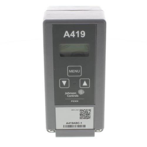A419ABC 1C_JohnsonControls_TempControl01 image gallery johnson controls a419 wiring diagram