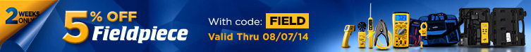 5% Off Fieldpiece