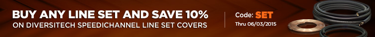 10% Off DiversiTech SpeediChannel Line Set Covers