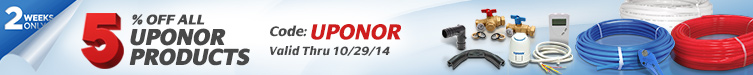 5% Off All Uponor