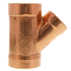 Copper DWV 45 Wyes