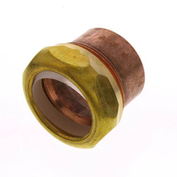 Copper DWV Trap Adapters