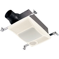 Broan-NuTone Ventilation Fans with Light & Directionally-Adjustable Heaters