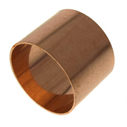 Copper DWV Couplings Less Stop