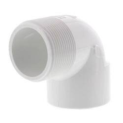 PVC Schedule 40 90° Street Elbows (MIPT x FIPT)