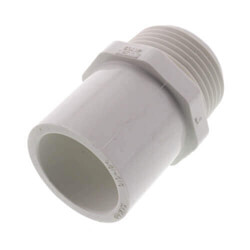 PVC Schedule 40 Spigot x Male Adapters