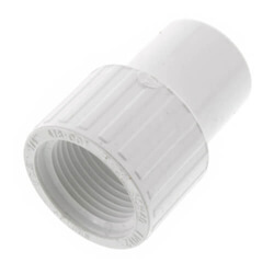 PVC Schedule 40 Spigot x Female Adapters