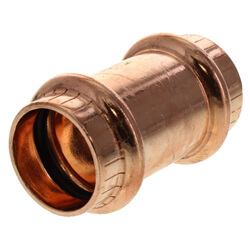 Propress Copper Couplings No-Stop