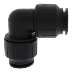 Black PEI Fittings