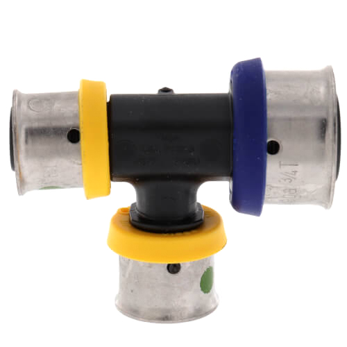PEX Press Polymer Reducer Tees