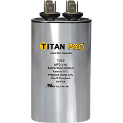 Titan Pro Motor Run Capacitors