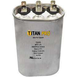 Titan Pro Dual Motor Run Capacitors