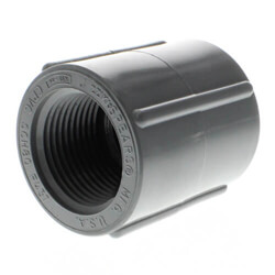 CPVC Schedule 80 Couplings (FPT)