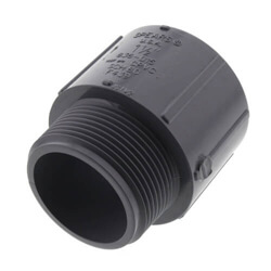 CPVC Schedule 80 Male Adapters (MPT x Socket)