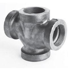 Cast Iron Double 90° Wyes