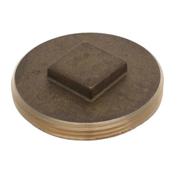 Brass Cleanout Plugs