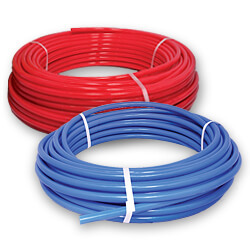 Pex plumbing pipe freezing for Is pex better than cpvc
