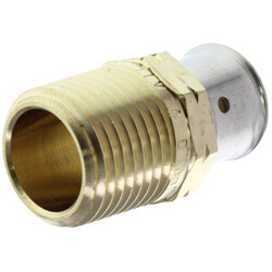 PEX Press Male Adapters