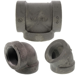 Cast iron fittings steam