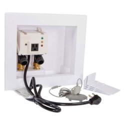 automatic washing machine water shutoff valve