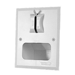 DWB Duo-Clozure Wall Boxes with Series 2-M2 Washing Machine Shutoff Valve