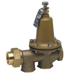 """3/4"""" 25AUB-S-DU-Z3 Pressure Reducing Valve, LF (Double Sweat Union) Product Image"""