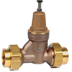 "LFN55BDU - 2"" NPT Double Union Water Pressure Reducing Valve (LF) Product Image"