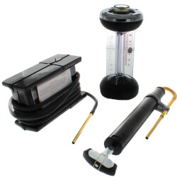 Fyrite Classic Oil Combustion Testing Kit<br>(w/ Fire Efficiency Finder) Product Image