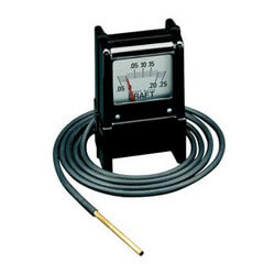 "MZF Draft Gauge<br>(+0.5 to 0 to -0.25"" WC) Product Image"
