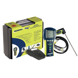 PCA 3 275 Portable Combustion Analyzer Kit (O2, CO, NO, SO2, Printer)