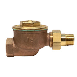 "1GSW, 1/2"" Straight Radiator Steam Trap"