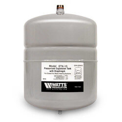 ETX-15, 2.1 Gallon Non-Potable Water Expansion Tank
