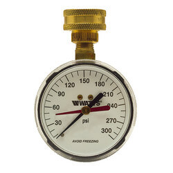 Hose Connection Gauge (0-300 PSI)
