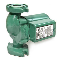 007 Cast Iron Circulator with Integral Flow Check, 1/25 HP (Rotated Flange)