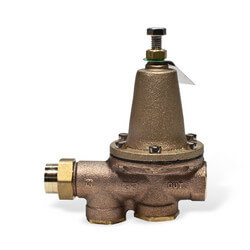 "1-1/4"" 25AUB-Z3 Pressure Reducing Valve (Threaded F Union Inlet x NPT Threaded F Outlet)"