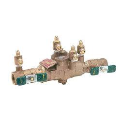 "LF009M3-QT-S 3/4"" Bronze RPZ w/ Strainer (Lead Free) Product Image"