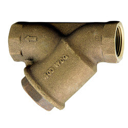 "3/4"" LF777SM1-100 Lead Free Bronze Wye Strainer (Threaded) Product Image"