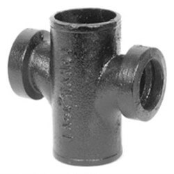 """2"""" Service Weight Cast Iron Sanitary Cross Product Image"""