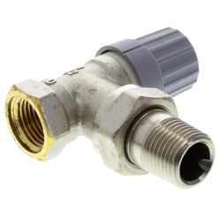 "1/2"" Angle Thermostatic Radiator Valve Product Image"