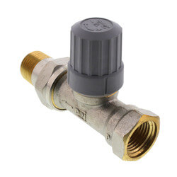 "1/2"" Straight Thermostatic Radiator Valve"