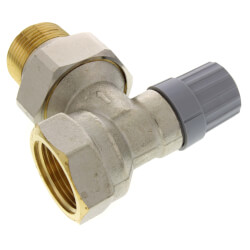 "1"" Angle Thermostatic Radiator Valve"