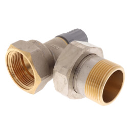 "1-1/4"" Angle Thermostatic<br>Radiator Valve Product Image"