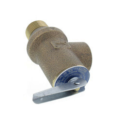 "1/2"" 53L Poppet Type Pressure Relief Valve <br>(150 psi) Product Image"