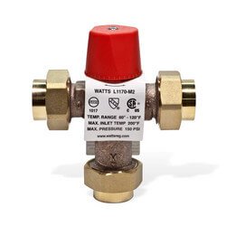 "3/4"" L1170-UT M2 Threaded Lo-Temp Mixing Valve"