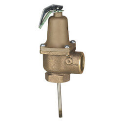 "1-1/4"" 140X-6 Relief Valve w/ Extension Thermostat"