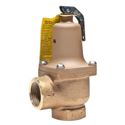 """1-1/4"""" LF174A Lead Free <br>Relief Valve (150 lb) Product Image"""