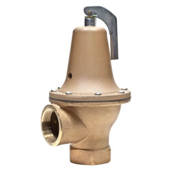 "2"" LF174A Lead Free Relief Valve (75 lb)"