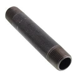 """1/2"""" x 4-1/2"""" Black Nipple Product Image"""