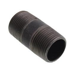 """3/4"""" x 2"""" Black Nipple Product Image"""