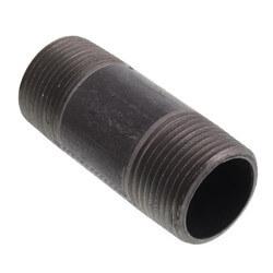 """1"""" x 3"""" Black Nipple Product Image"""